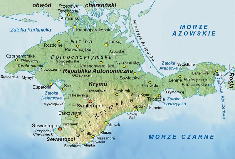 Dziś referendum w sprawie przyłączenia Krymu do Rosji
