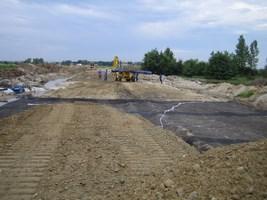 Zabezpieczenia w budownictwie drogowym