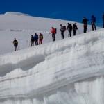tura wysokogórska trasą haute Route