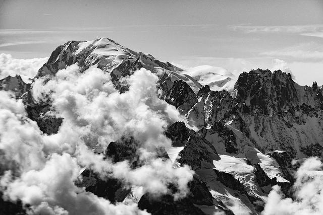Wycieczka trekkingowa w bezpośrednim sąsiedztwie Mont Blanc.